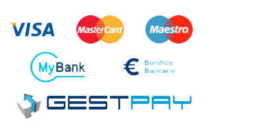 Il nostro E-Shop si avvale del sistema acquisti sicuri online con Banca Sella.