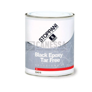 BLACK EPOXY TAR FREE 24015 SOL. A LT. 4 STO24015L4 SOTTOFONDI