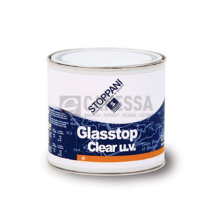 GLASSTOP CLEAR U.V. 68096 SOL. A LT. 2 STO68096L2 VERNICI STOPPANI - LECHLER  2 2 TRASPARENTE