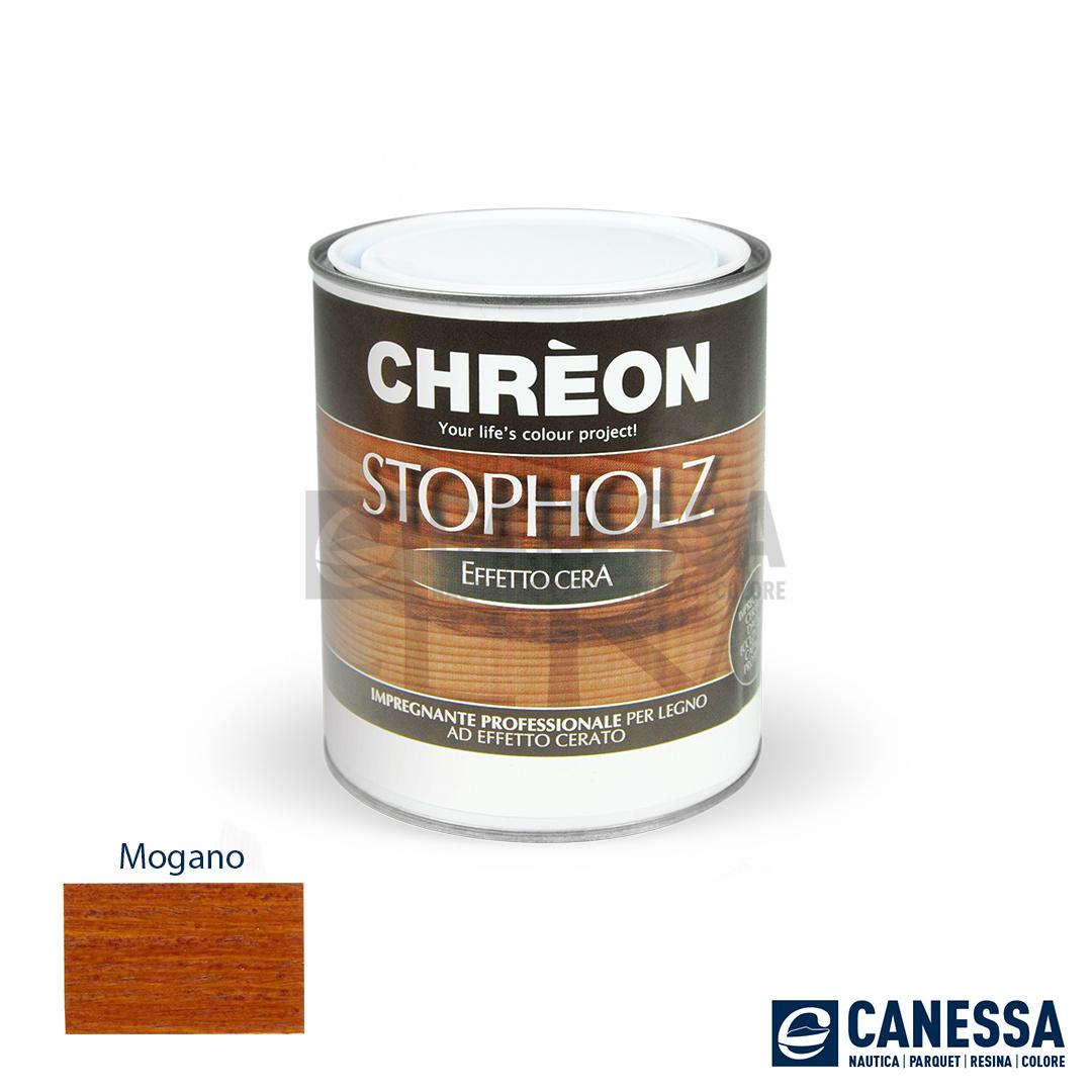 Impregnante Stopholz Cera Mogano Lt 0750 Canessa Genova