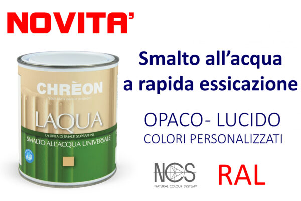 Smalto all'acqua