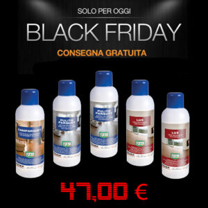 Black Friday Pulito + Sani + Lux